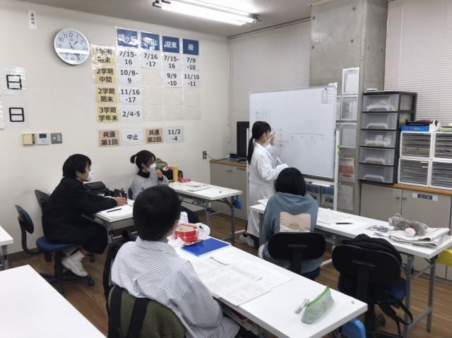 中3生冬期講習会開始!!画像